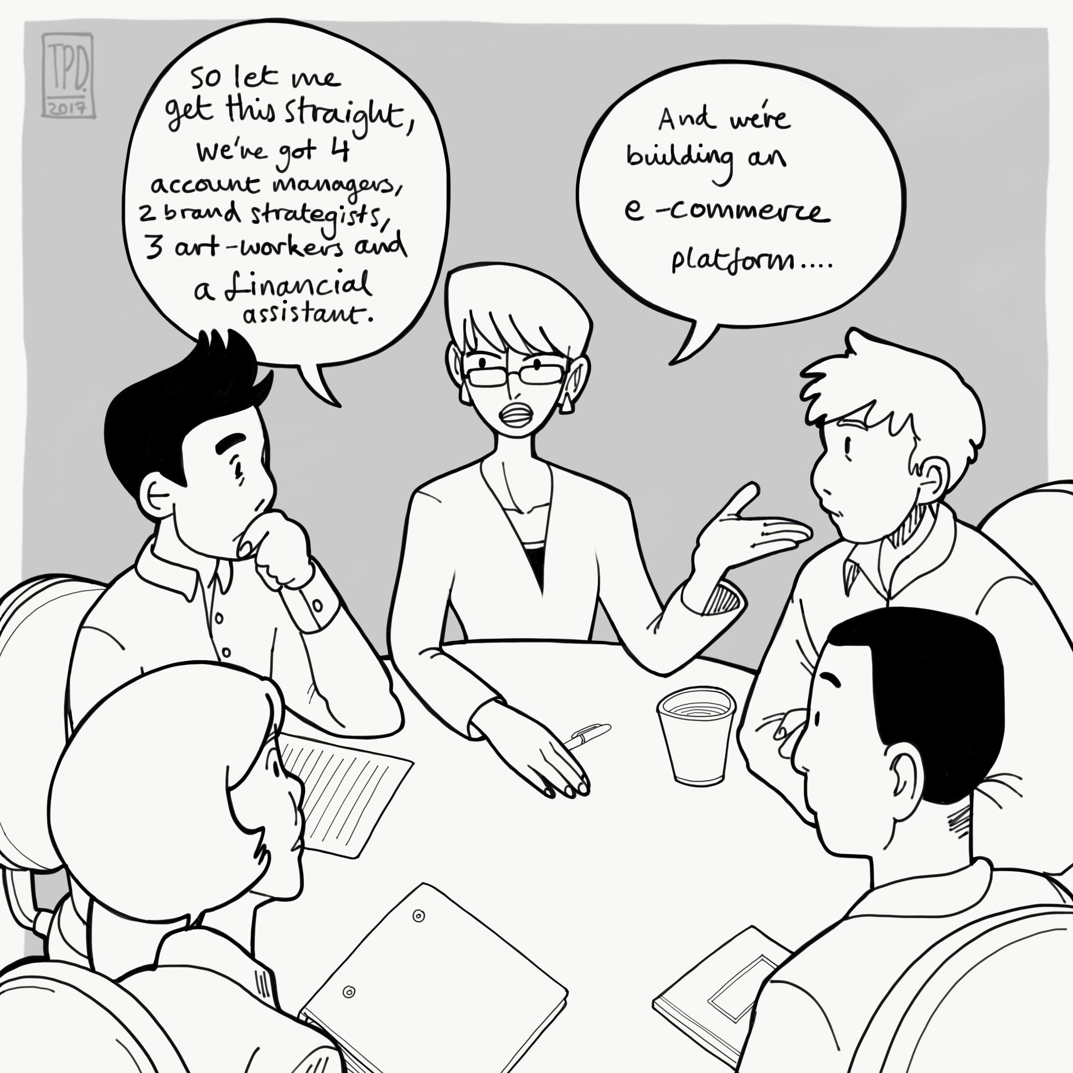 Comic by Leah Panigada Carey